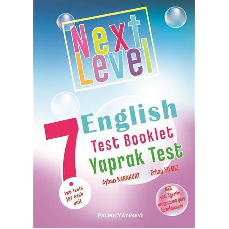 7.SINIF NEXT LEVEL ENGLISH TEST BOOKLET YAPRAK TEST